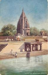 TEMPLE AT RAMNAGAR view across water