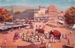 THE CHOWK AND HOWA MAHAL