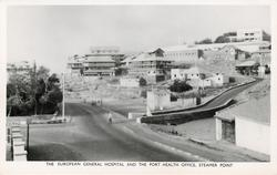 THE EUROPEAN GENERAL HOSPITAL AND THE PORT HEALTH OFFICE, STEAMER POINT