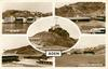 5 insets G.P.O SEEN FROM SHIP IN HARBOUR, STEAMER POINT/CIVIL HOSPITAL, T.B. WARD WITH AIDRUS MOSQUE IN BACKGROUND, CRATER/THE SUPREME COURT, CRATER/THE H.Q. BRITISH FORCES, STEAMER POINT/SIGNAL STATION, BARRACK HILL, STEAMER POINT