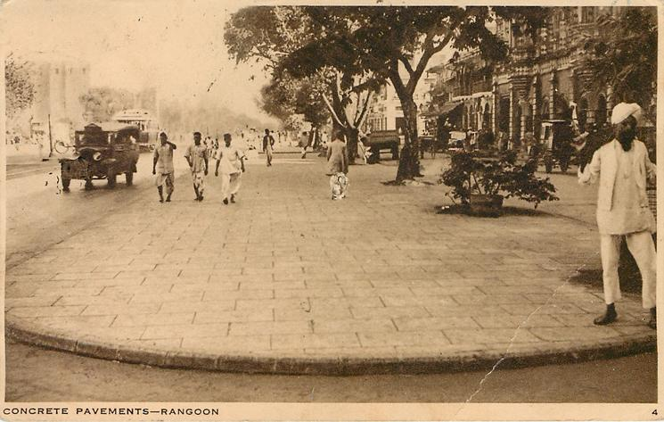 CONCRETE PAVEMENTS-RANGOON