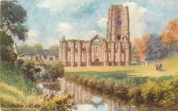 FOUNTAINS ABBEY NEAR