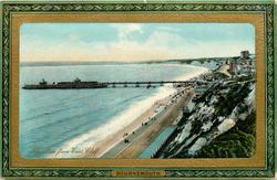 THE PIER FROM EASTCLIFF