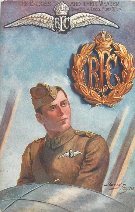 ROYAL FLYING CORPS. PILOT (OFFICER)