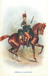 CORPORAL, 11TH HUSSARS