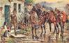 11TH HUSSARS, (CHERRY PICKERS) SOMEWHERE IN FRANCE