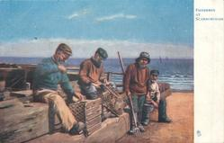 FISHERMEN AT SCARBOROUGH
