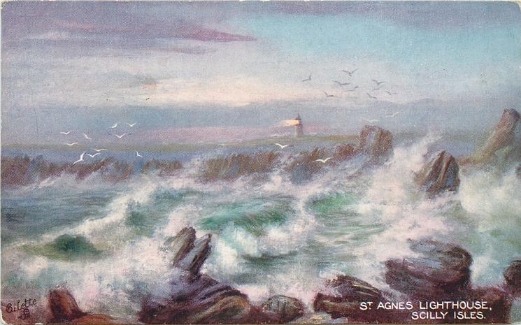 ST. AGNES LIGHTHOUSE, SCILLY ISLES
