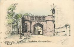THE GATEWAY, LINLITHGOW PALACE