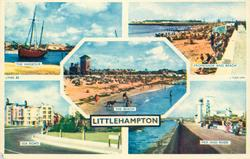 5 insets  THE HARBOUR/PROMENADE AND BEACH/THE BEACH/SEA ROAD/ PIER AND RIVER