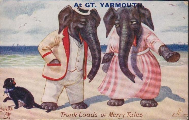 TRUNK LOADS OF MERRY TALES