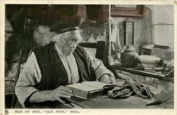 ISLE OF MAN, OLD PETE, PEEL