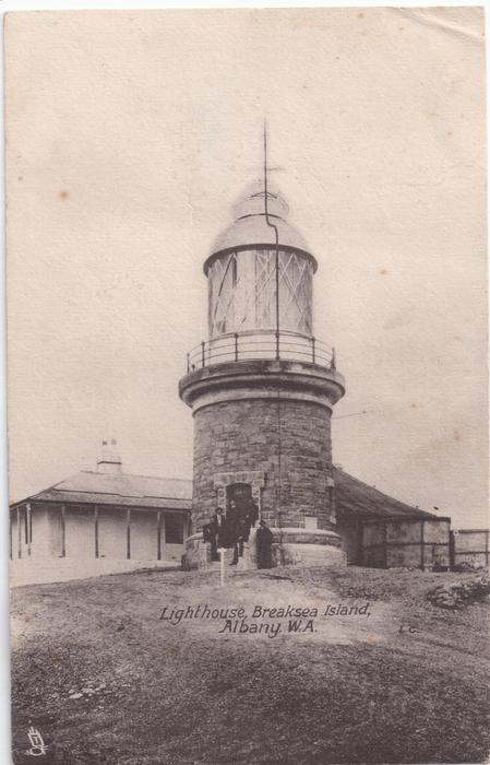 LIGHTHOUSE, BREAKSEA ISLAND