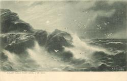 COAST NEAR PORT ERIN, I. OF MAN