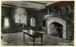 STOKESAY CASTLE  interior