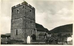 STOKESAY CHURCH