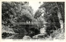 CARRICK ROCKS AND FOOTBRIDGE