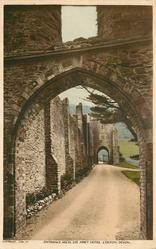 ENTRANCE ARCH, LEE ABBEY HOTEL