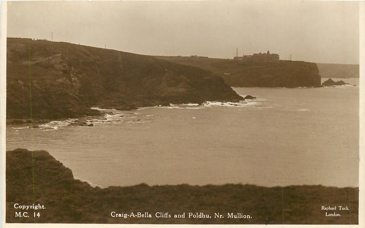 CRAIG-A-BELLA CLIFFS AND POLDHU, NR. MULLION