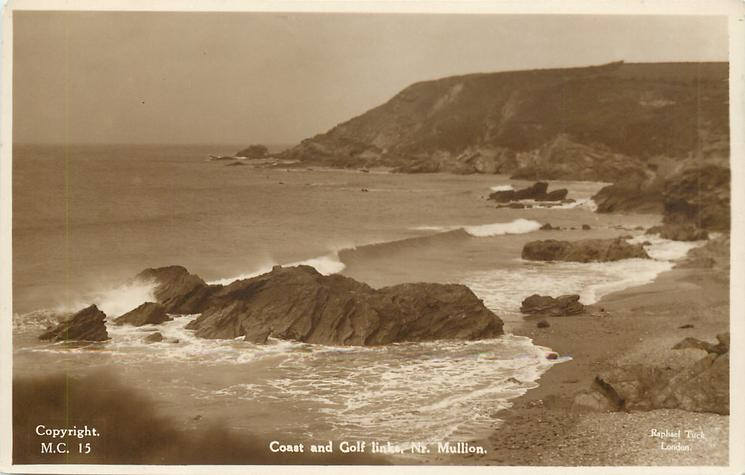 COAST AND GOLF LINKS, NR. MULLION