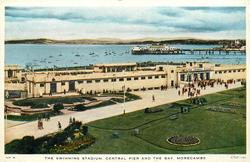 THE SWIMMING STADIUM, CENTRAL PIER AND THE BAY