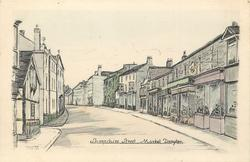 SHROPSHIRE STREET prominent central street, houses both sides