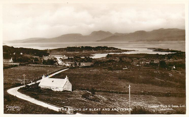 THE SOUND OF SLEAT AND ARDVASAR