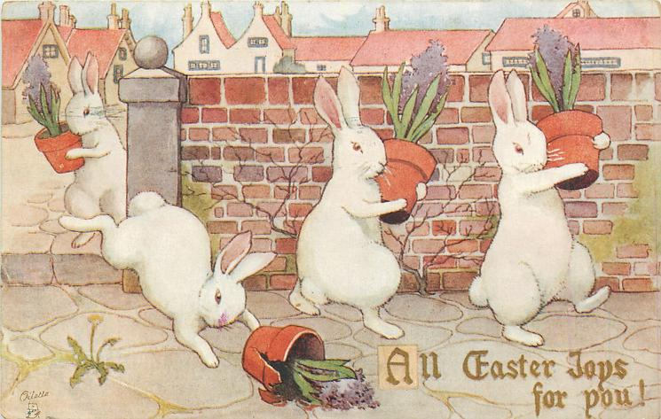 ALL EASTER JOYS FOR YOU!