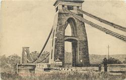 CLIFTON SUSPENSION BRIDGE close-up