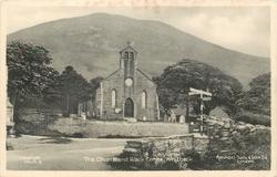 THE CHURCH AND BLACK COMBE, WHITBECK