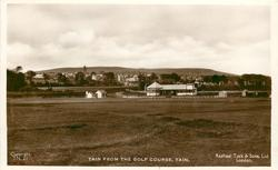 TAIN FROM THE GOLF COURSE