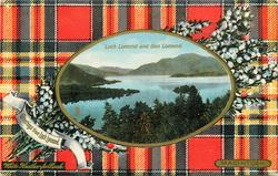 LOCH LOMOND AND BEN LOMOND  MACINTOSH tartan