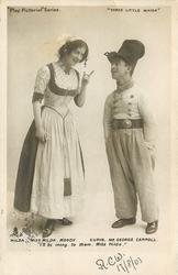 HILDA, MISS HILDA MOODY - CUPID, MR GEORGE CARROL ... MISS HILDA