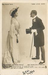 LADY ROSEMARY, MISS NORMA WHALLEY - LORD CHEYNE, MR. G.P. HUNTLEY ... TEA GIRL