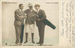 MR. J.L. MACKAY, MR. G.P. HUNTLEY, AND MR. MAURICE FARKOA