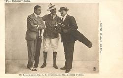 MR. J.L. MACKAY, MR. G.P. HUNTLEY, AND MR MAURICE FARKOA