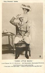 LORD CHEYNE, MR. G.P. HUNTLEY, ADA BRANSCOMBE, MISS MADGE CRICHTON .. HURT LIKE THAT