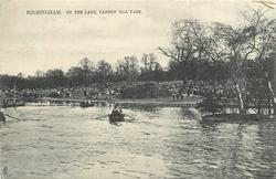 ON THE LAKE, CANNON HILL PARK