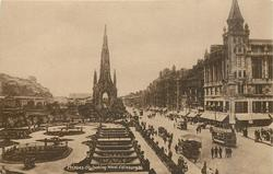 PRINCES STREET LOOKING WEST