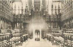 CHOIR OF ST. GEORGE'S CHAPEL WEST