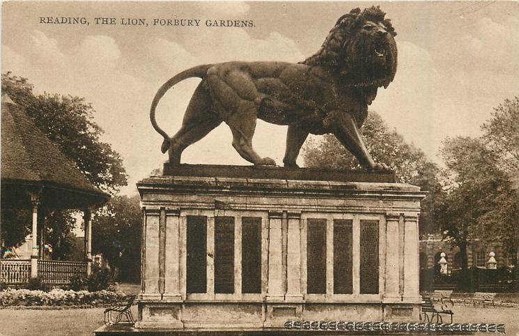 THE LION, FORBURY GARDENS