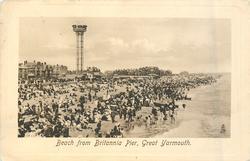 BEACH FROM BRITANNIA PIER