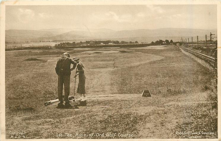 1ST. TEE MUIR-OF-ORD GOLF COURSE