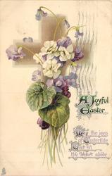 A JOYFUL EASTER violets