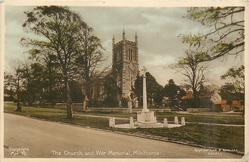 THE CHURCH AND WAR MEMORIAL
