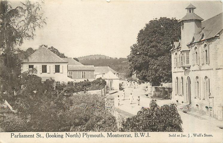 PARLIAMENT ST., (LOOKING NORTH), PLYMOUTH