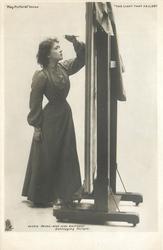 BESSIE BROKE MISS NINA BOUCICAULT  DESTROYING PICTURE