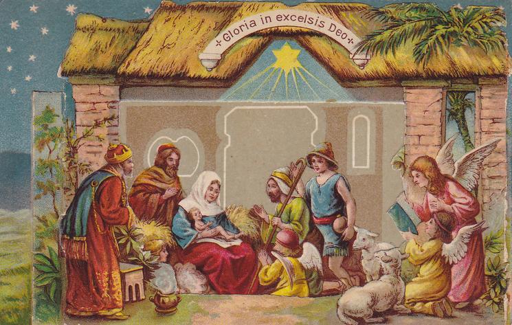 A HAPPY CHRISTMAS (back)