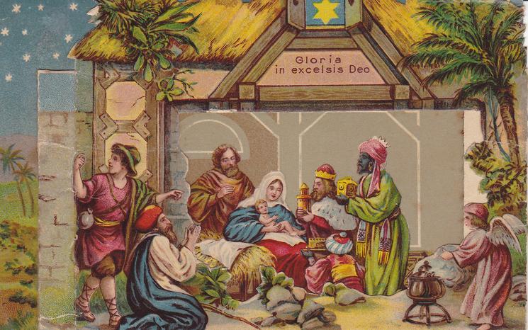 CHRISTMAS GREETINGS (back)