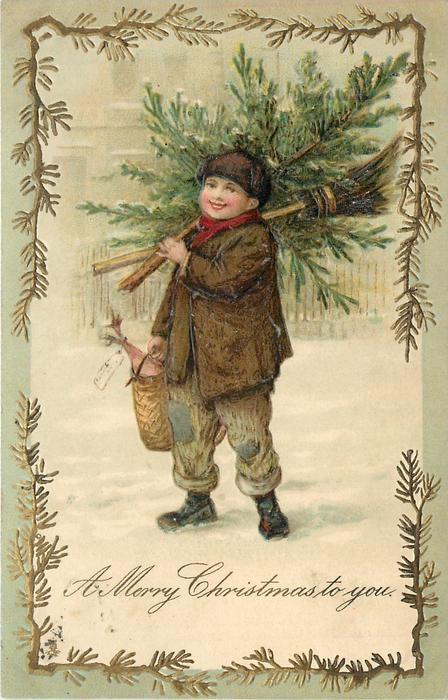 Винтажные рождественские открытки карл фиертаг, поздравления